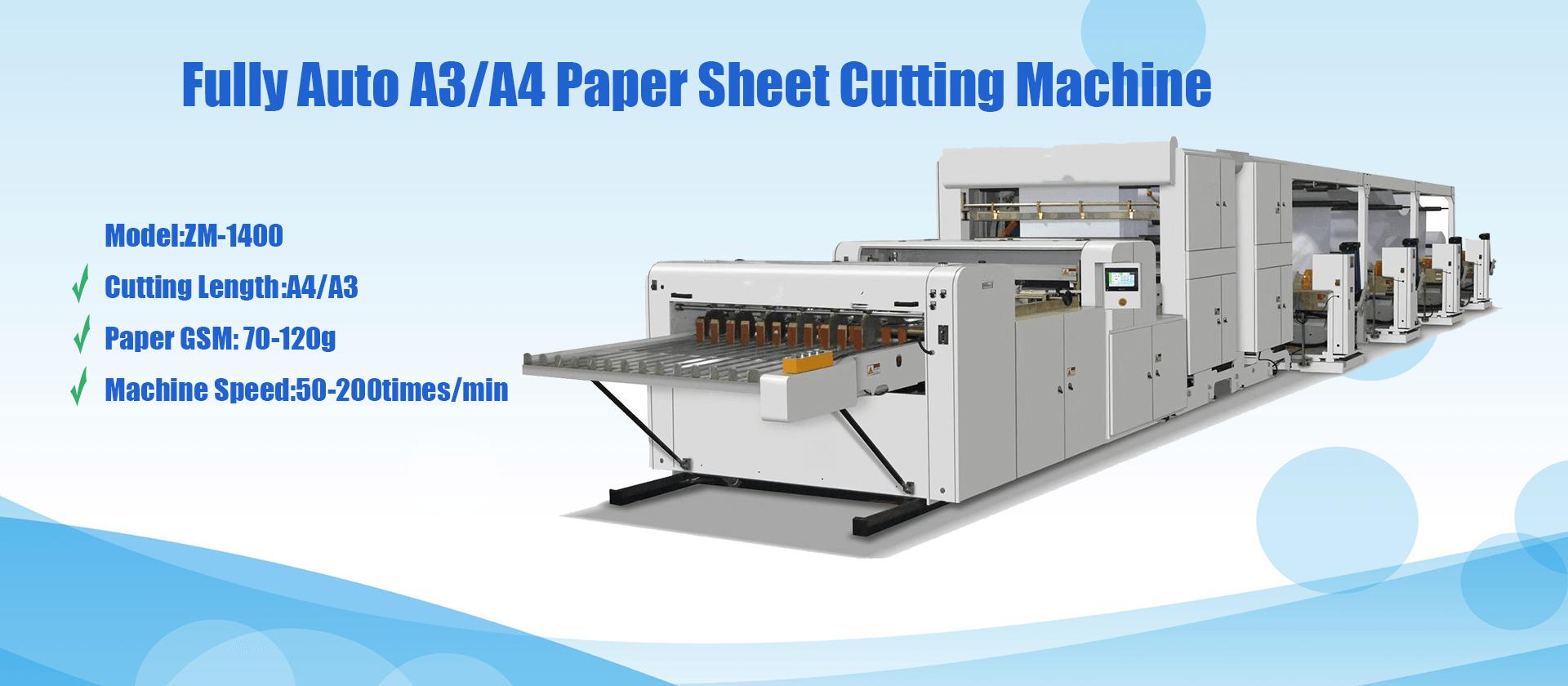 A4 Paper Cutting Machine Exporter China
